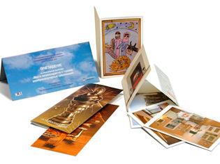 Печать флаеров, открыток, приглашений